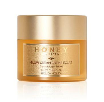 Holika Holika Honey Royalactin Glow Cream rozświetlający krem do twarzy (50 ml)