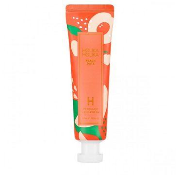 HOLIKA HOLIKA Peach Date Perfumed Hand Cream nawilżający krem do rąk Brzoskwinia 30ml