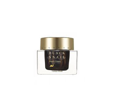 HOLIKA HOLIKA Prime Youth Black Snail Repair Cream krem nawilżający o wysokiej zawartości ekstraktu ze śluzu ślimaka 50ml