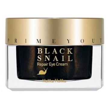 HOLIKA HOLIKA Prime Youth Black Snail Repair Eye Cream przeciwzmarszczkowy krem pod oczy ze śluzem ślimaka 30ml