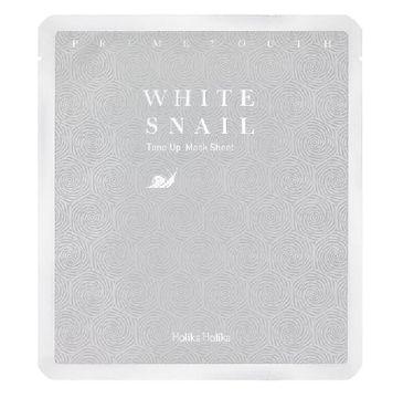 HOLIKA HOLIKA Prime Youth White Snail Tone-up Mask Sheet odmładzająca maseczka do twarzy w płachcie 30g