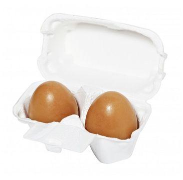 HOLIKA HOLIKA Smooth Egg Skin Red Clay Egg Soap mydło do twarzy z ekstraktem z czerwonej glinki