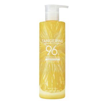 Holika Holika Tangerine Refreshing Essence 96% Soothing Gel rewitalizujący żel do twarzy i ciała (390 ml)