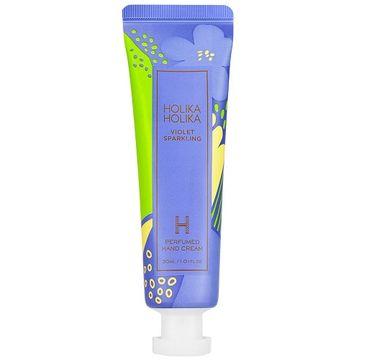 HOLIKA HOLIKA Violet Sparkling Perfumed Hand Cream nawilżajacy krem do rąk Cytryna 30ml
