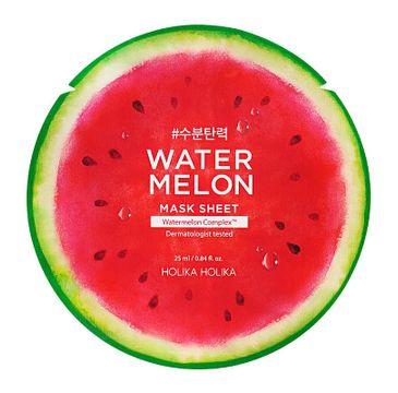 HOLIKA HOLIKA Watermelon Mask Sheet ujędrniająca maska w płachcie do twarzy 25ml