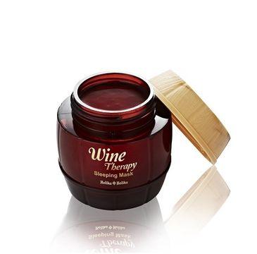 HOLIKA HOLIKA Wine Therapy Sleeping Mask całonocna maseczka z ekstraktem z czerwonego wina 120ml