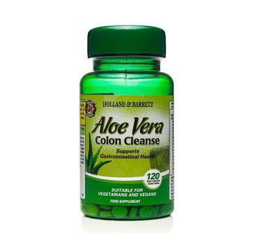 Holland & Barrett Aloe Vera 330mg oczyszczenie jelit suplement diety 200 tabletek