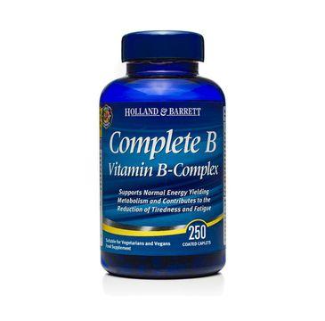 Holland & Barrett Complete B suplement diety Vitamin B-Complex 250 kapletek