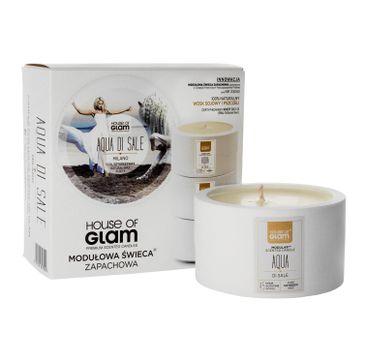 House Of Glam Modułowa Świeca zapachowa Aqua Di Sale Milano 200 g
