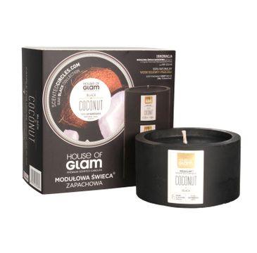 House Of Glam Modułowa Świeca zapachowa Black Coconut 200 g