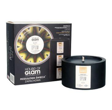 House Of Glam Modułowa Świeca zapachowa Black Opium 200 g