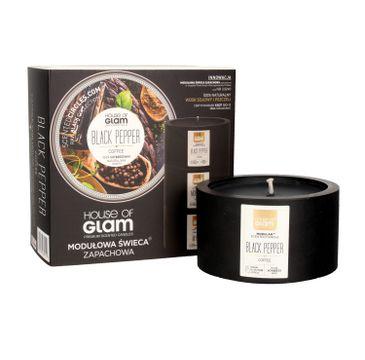 House Of Glam Modułowa Świeca zapachowa Black Pepper & Coffee 200 g
