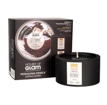 House Of Glam Modułowa Świeca zapachowa Brownie Intenso 200 g