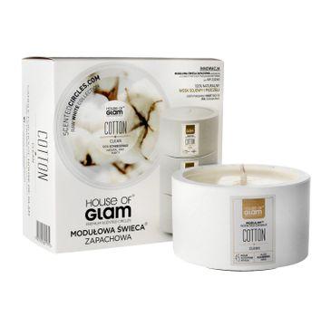 House Of Glam Modułowa Świeca zapachowa Cotton Clean 200 g