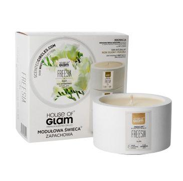 House Of Glam Modułowa Świeca zapachowa Freesia Alba 200 g