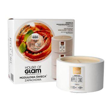House Of Glam Modułowa Świeca zapachowa French Apple Cake 200 g
