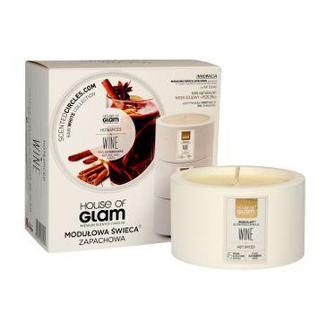 House Of Glam Modułowa Świeca zapachowa Hot & Spiced Wine 200 g