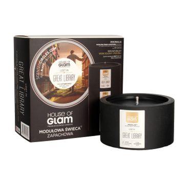House Of Glam Modułowa Świeca zapachowa Lost In Great Library 200 g