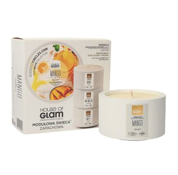 House Of Glam Modułowa Świeca zapachowa Mango Delight 200 g