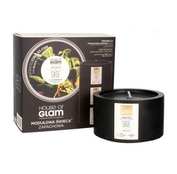 House Of Glam Modułowa Świeca zapachowa Oak Moss Sage 200 g