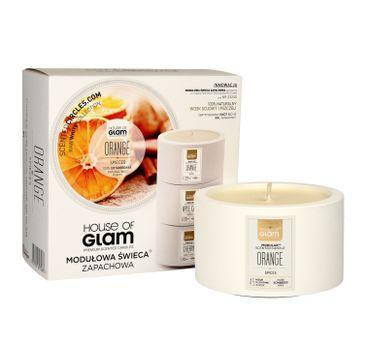 House Of Glam Modułowa Świeca zapachowa Orange Spieces 200 g