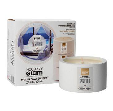 House Of Glam Modułowa Świeca zapachowa Santorini Spa 200 g