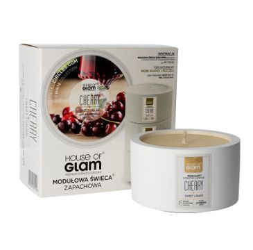 House Of Glam Modułowa Świeca zapachowa Sweet Cherry Liquer 200 g