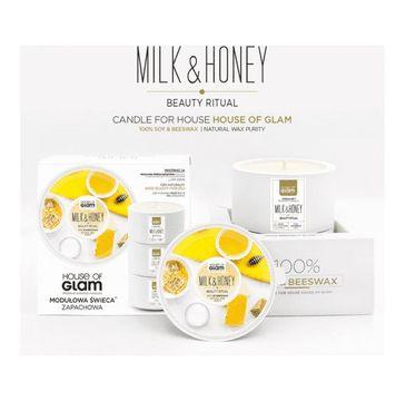 House Of Glam Świeca zapachowa Beauty Milk & Honey 200 g