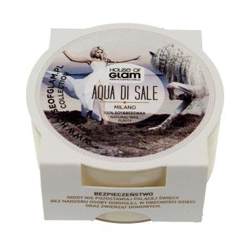 House Of Glam Świeca zapachowa mini Aqua Di Sale Milano 45 g