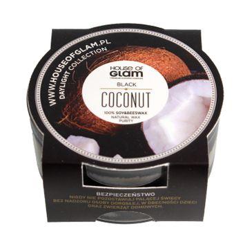 House Of Glam Świeca zapachowa mini Black Coconut 45 g