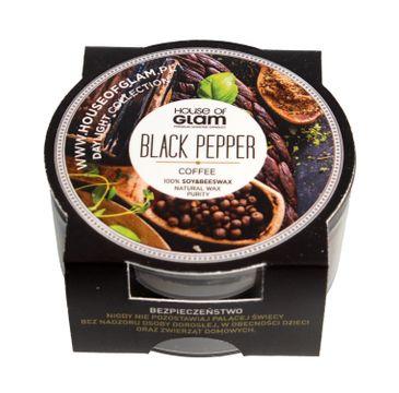 House Of Glam Świeca zapachowa mini Black Pepper & Coffee 45 g