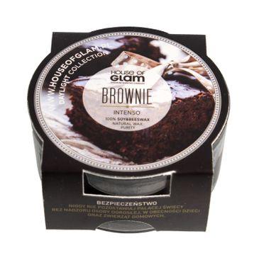 House Of Glam Świeca zapachowa mini Brownie Intenso 45 g