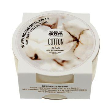 House Of Glam Świeca zapachowa mini Cotton Clean 45 g