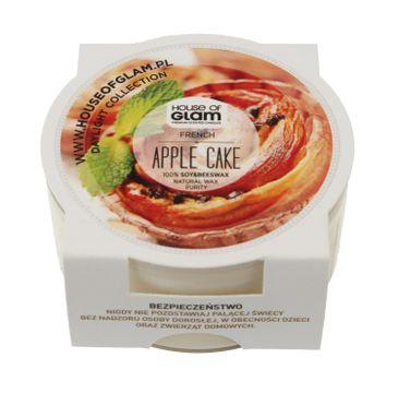 House Of Glam Świeca zapachowa mini French Apple Cake 45 g