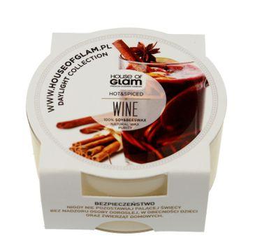 House Of Glam Świeca zapachowa mini Hot & Spiced Wine 45 g
