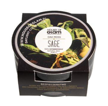 House Of Glam Świeca zapachowa mini Oak Moss Sage 45 g