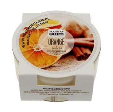House Of Glam Świeca zapachowa mini Orange Spieces 45 g