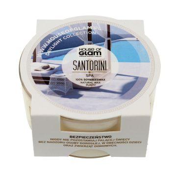 House Of Glam Świeca zapachowa mini Santorini Spa 45 g