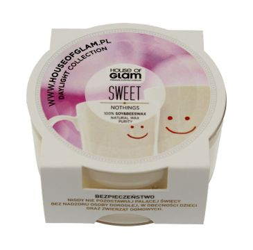 House Of Glam Świeca zapachowa mini Sweet Nothings 45 g