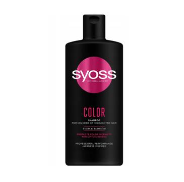 Syoss – Szampon do włosów farbowanych i rozjaśnianych Color (440 ml)