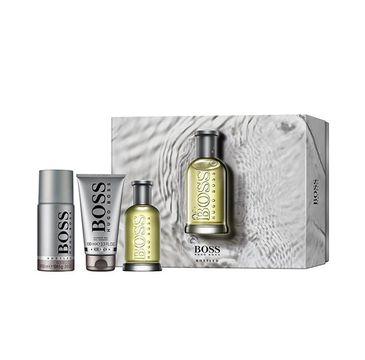 Hugo Boss Bottled zestaw woda toaletowa spray 100ml + dezodorant spray 150ml + żel pod prysznic 100ml (1 szt.)