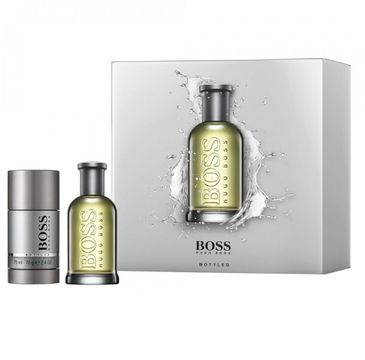 Hugo Boss – Bottled zestaw woda toaletowa spray 50ml + dezodorant sztyft 75ml (1 szt.)