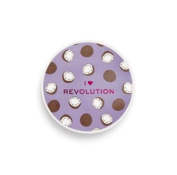 I Heart Revolution Baking Powder – sypki puder Coconut (22 g)