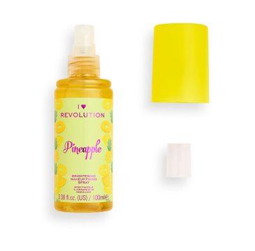I Heart Revolution – Brightening Makeup Fixing Spray utrwalający makijaż Pineapple (100 ml)