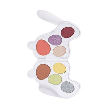 I Heart Revolution Bunny Fluffy Eyeshadow Palette – paleta cieni do powiek (4,8 g)