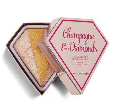 I Heart Revolution Diamond Champagne & Diamonds (rozświetlacz 10 g)