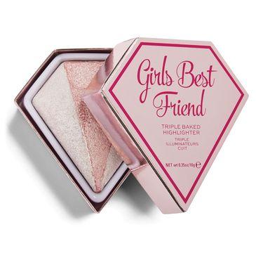 I Heart Revolution Diamond Girls Best Friend (rozświetlacz 10 g)
