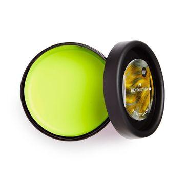 I Heart Revolution – Pasta do włosów świecąca UV Neon Żółty (1 szt.)