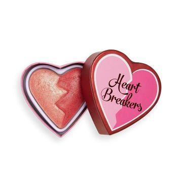 I Heart Revolution – Róż do policzków Heartbreakers Shimmer Blush Strong (1 szt.)