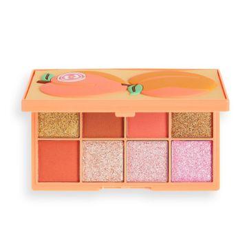 I Heart Revolution – Tasty Mini paleta cieni Peach (1 szt.)